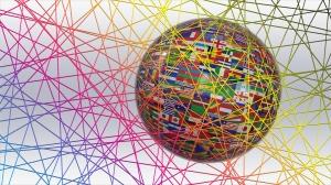Das World Wide Web durchzieht den Planeten. (Quelle: pixelio.de / Gerd Altmann)